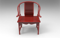 弧型小太师椅